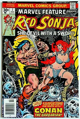 Marvel Feature presents Red Sonya  #7 VF-   Marvel 1976