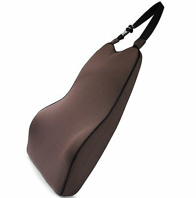Lower Back Lumbar Cushion Support For Back Pain Relief Car Seat Soft Memory Foam