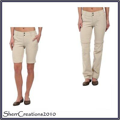 NWT Columbia Women Saturday Trail II Convertible Pants MSRP $65