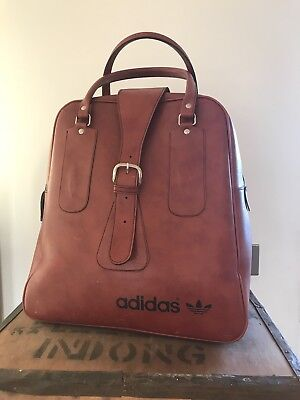 Vintage ADIDAS 70s RETRO HOLDALL WEEKEND BAG / SPORTS SHOPPER. *VERY RARE*