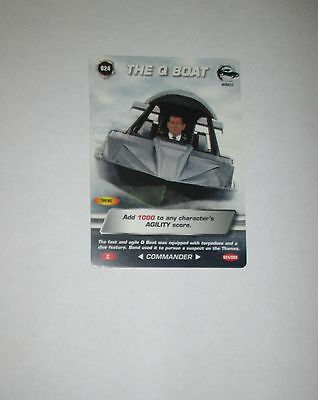 James Bond 007 Spy Common card 024 The Q boat (Test series)