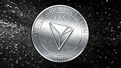100 TRON (100 TRX) Crypto Currency Coin. **TRUSTED SELLER**