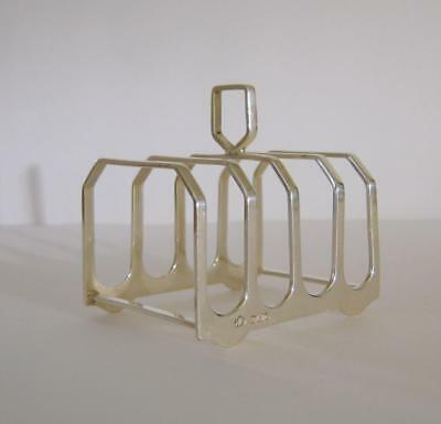 A Vintage Sterling Silver Toast Rack Birmingham 1939 Elkington & Co