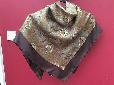 Liberty. Lovely Classic Vintage Silk Scarf-Hera + Small Cotton Liberty Square