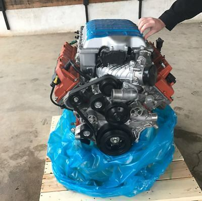 Dodge 6.2L Hellcat Complete Crate Engine Assembly & Accessories Plug N Play OEM