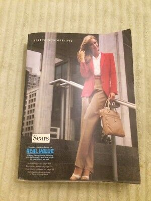 SEARS Spring Summer 1982 Catalog Book Vintage Clothing