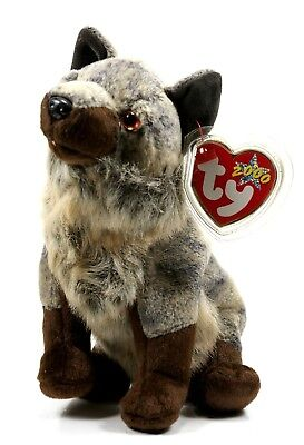TY Beabie Babies 2000 – Howl the Wolf – RETIRED – MWMT – 7 inches