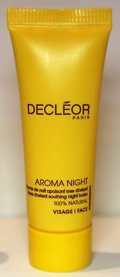 Decleor AROMA NIGHT Rose D'Orient Soothing Night Balm 5ml - UK SELLER!!!