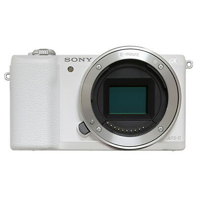 Sony Alpha a5100 Mirrorless 24.3MP Digital Camera Body White