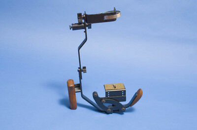 Vintage Stroboframe Wooden Grip Flash Bracket