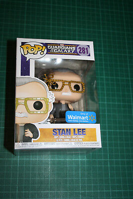 Funko Pop Stan Lee Guardians Of The Galaxy 281 Walmart Exclusive Vinyl Figure