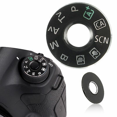 Canon EOS 6D Replacement Dial Mode Plate Interface Cap Button Repair Part Camera