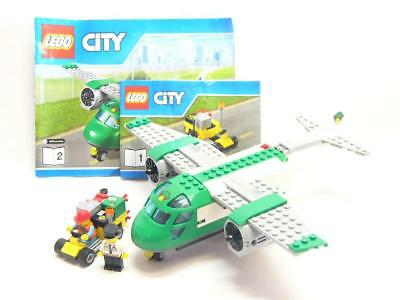 Lego City 60101 Airport Cargo Plane With Instructions 2016