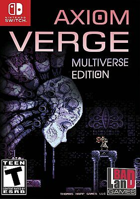 Axiom Verge: MULTIVERSE Edition (Nintendo Switch) BRAND NEW & FACTORY SEALED nsw