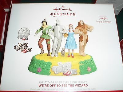 Hallmark 2013 WIZARD of OZ WE'RE OFF to SEE the WIZARD *Magic* New NIB 75th