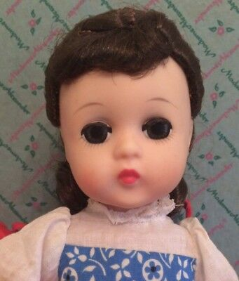 Madame Alexander Jo Little Women Lissy Face 12in Doll Original Box Tag Rare 60s