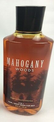 Bath and Body Works Mahogany Woods 2 in 1 Hair & Body Wash for Men NEW!