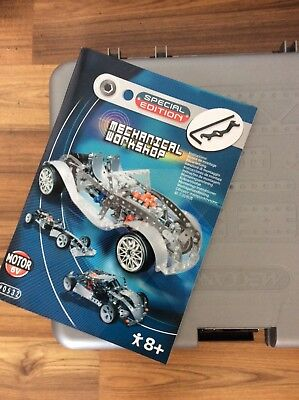 Meccano Motorized Special Ed Mechanical Workshop - complete with instructions