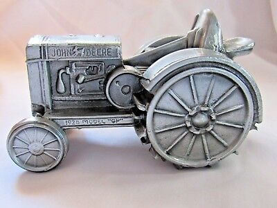 Banthrico John Deere Tractor Metal Coin Bank 5th Edition  In Series 1995