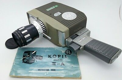 Vintage KOPIL II A Zoom Electric-Eye 8mm Movie Camera works well