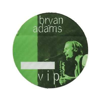 Bryan Adams authentic VIP 1996 tour Backstage Pass