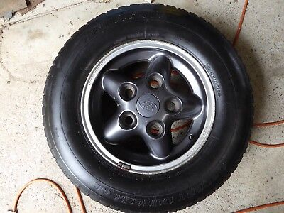 Land Rover Discovery 1 wheel with Bridgestone tyre 225/75R16