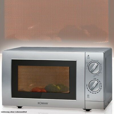 2 in 1 Mikrowelle Grill 900W Microwelle Microwave Drehteller 24,5 cm Grillrost