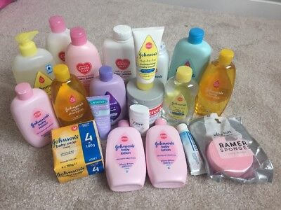 Johnsons Baby Wash Lotion Oil Sudocrem Powder Bepanthen Lanolin Nipple Cream
