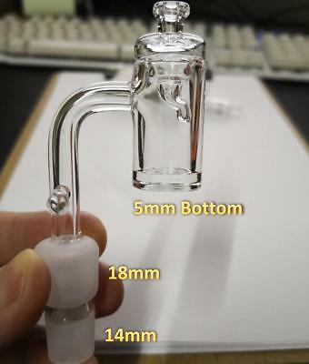 14mm 18mm Male Enail Dnail Quartz banger for 20mm coil with glass carb cap