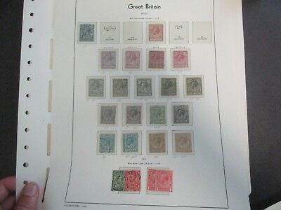 UK Stamps: High End Collection Mint and Used on pages AMAZING Must see!   (R137)