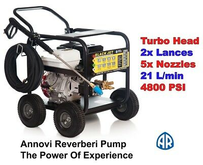 New  Honda   13 Hp 4800 Psi  High  Pressure Water Washer Cleaner Italian Pump