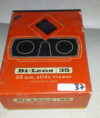 Vintage Bi-Lens 35 mm Slide Viewer