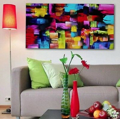 Modern vibrant abstract painting by Robyn Rumbold