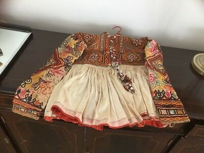 Original Traditional Vintage Middle-Eastern Romany Red Indian  Childs Outfit