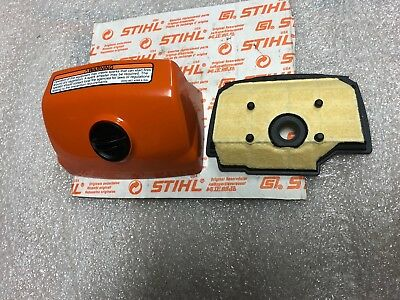 stihl ms201tc-m tronic air filter and cover NEW OEM  145 140 4404,1145 140 1904