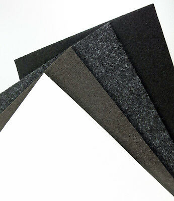 Felt Sheet Square 5 10 15 20 25 30 35 40 45 50 60 70 80 35 3/8in Self Adhesive