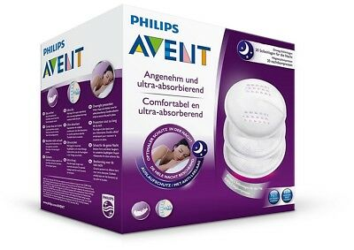 Philips Avent Disposable Breast Pads Night Overnight Protection Leakage Barrier