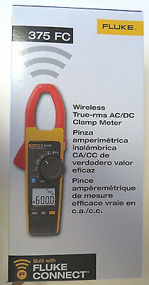 Fluke 375 FC True-rms AC/DC Clamp Meter   ** New in Box ** - MSRP 425