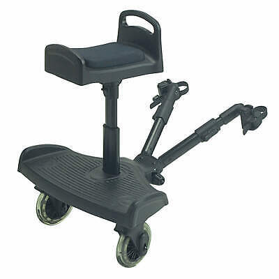 Ride On Board With Saddle Compatible With Britax Yanis - Black