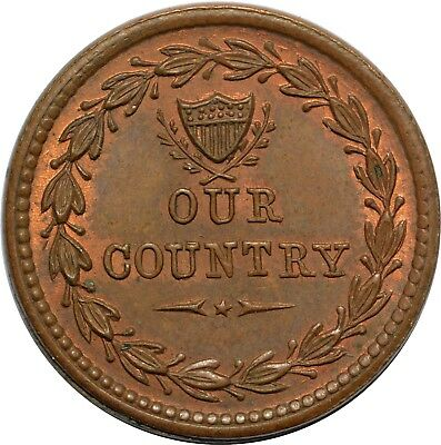 F231/352Aa R1 - Our Country / Drum, Cannons & Flags - BU w/ Trace Red