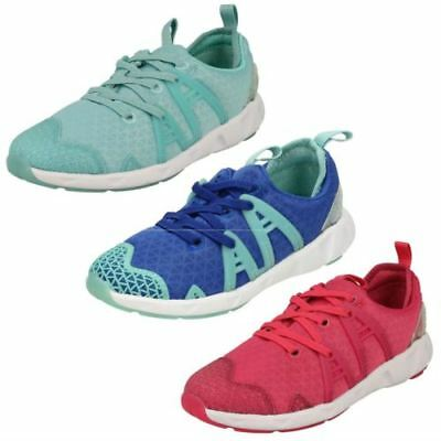 Clarks Filles Gloforms Baskets' Lumineux Fluo '