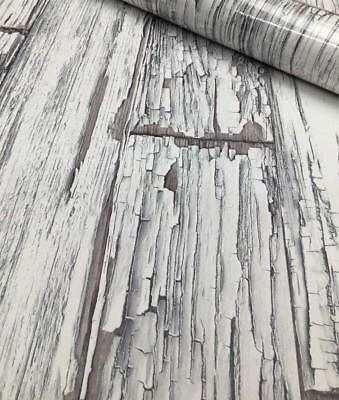 3 X Driftwood Wallpaper Wood Effect Panels Boards Paste The Wall Vinyl Discount