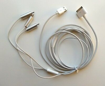 Apple 30 Pin to Composite AV Cable (Genuine)