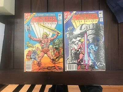 Masters of the Universe 1, 2 DC Comics