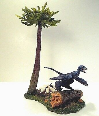 """6033: Beasts of the Mesozoic Forest Environment Pack with 6"""" dinosaur figure"""