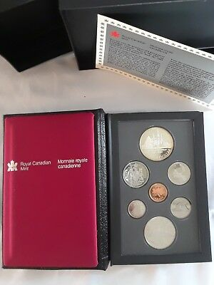 1987 RC Mint Proof Set with Display Case and box