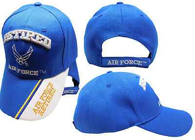 U.S. Air Force USAF Retired Wings Navy Blue Embroidered Cap Hat (TOPW) 8a02e675a2ff