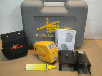 Pacific Laser Systems PLS-5 Laser Level w/case and Mount Brackets