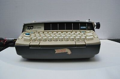 SCM Electric Typewriter Model 250