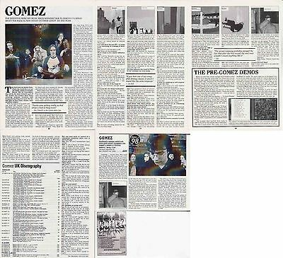 GOMEZ : CUTTINGS COLLECTION -interview-